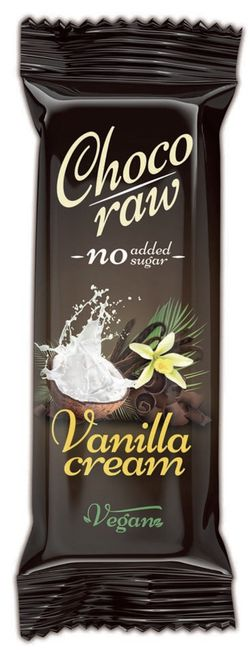 Živan ChocoRaw VANILLA CREAM 55 g