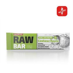 Nutrend raw bar 50 g - kešu+jablko